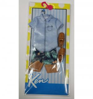 Одежда для кукол  Голубая рубашка с шортами Кена Barbie