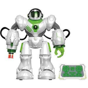 Радиоуправляемый робот  Пультовод с присосками Zhorya. Цвет: белый
