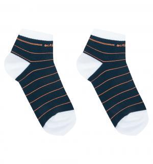 Носки  ACTIVE, цвет: оранжевый/синий Conte Kids