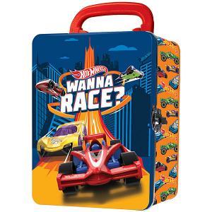 Портативный кейс  для хранения Hot Wheels, оранжевый WHEELS. Цвет: оранжевый