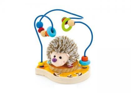 Деревянная игрушка  Лабиринт Ежик Мир деревянных игрушек