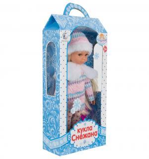 Кукла  Снежана, цвет: розовый/белый 25 см Tongde