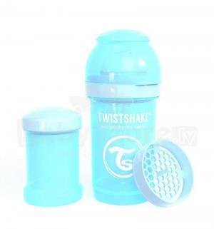Бутылочка  для кормления полипропилен с рождения, 180 мл, цвет: синий Twistshake