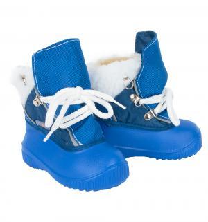 Сноубутсы , цвет: синий Дюна