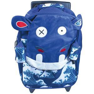 Рюкзак-чемодан Deglingos Hippipos LHippo синий. Цвет: atlantikblau