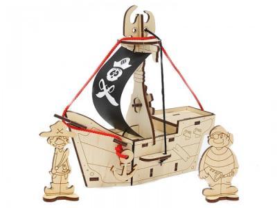 Набор для творчества Пиратский корабль Карамба Woody