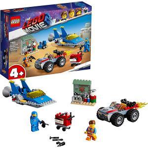Movie Мастерская «Строим и чиним» Эммета Бенни! 70821 LEGO