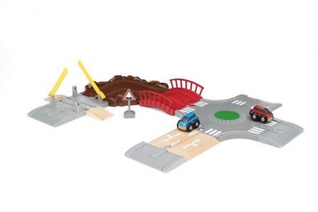 Игровой набор Автомобильная дорога (14 элементов) Brio