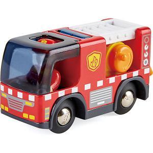 Пожарная машина  с сиреной Hape