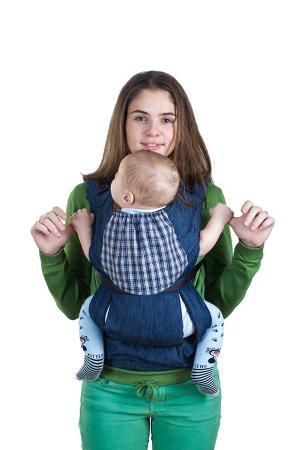 Слинг-рюкзак  Бебимобиль Хип Слинг-рюкзак, цвет: джинс/синий Чудо-Чадо