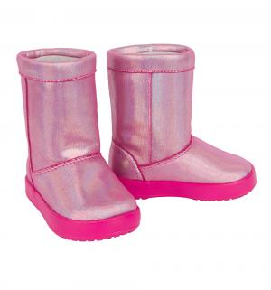 Сапоги  Lodge Point Novelty Candy Pink, цвет: розовый Crocs