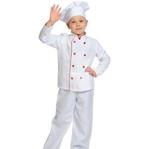 Карнавальный костюм  Повар-Шеф Карнавалофф. Цвет: разноцветный