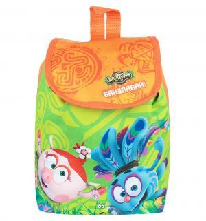 Рюкзак  цвет: оранжевый 28х28 см, Смешарики