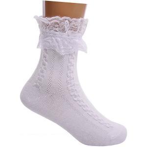 Носки , 2 пары Lansa. Цвет: белый