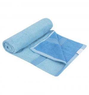 Полотенце Дуэт , цвет: голубой bq