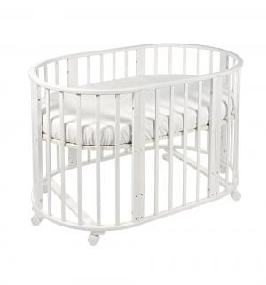 Кровать-трансформер  Delizia без маятника, цвет: белый Sweet Baby