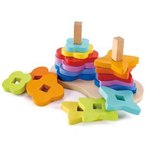 Деревянная игрушка  Конструктор Радуга Е0406 Hape
