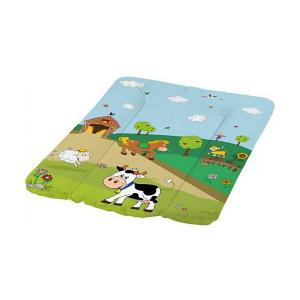 Матрас для пеленания Весёлая ферма, OKT, зеленый OKT kids