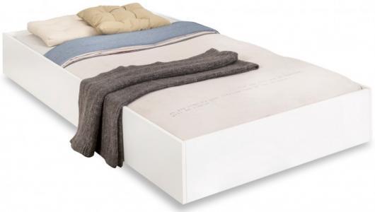 Выдвижное спальное место White 190х90 см Cilek