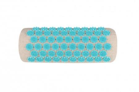 Массажная подушка акупунктурная полукруглая EcoLife 40х15 см Gezatone