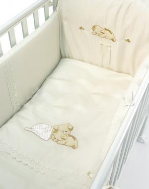 Комплект в кроватку  Little Puppy (4 предмета) Bambolina