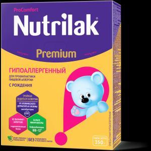 Молочная смесь  Premium ГА ProComfort С 0 месяцев, 350 г Nutrilak