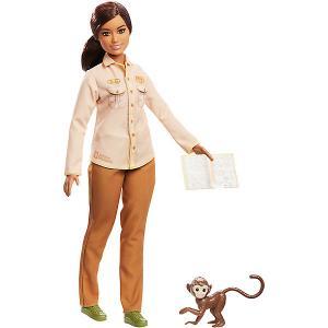 Кукла Barbie Кем быть? National Geographic Защитница дикой природы Mattel. Цвет: разноцветный
