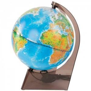 Глобус физико-политический 21 см с подсветкой Глобусный мир