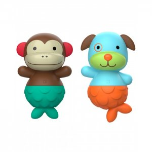 Игровой набор для ванной Собака и обезьяна Skip-Hop