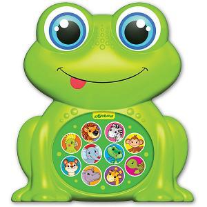 Музыкальная игрушка  Зверята-малышата Лягушонок Азбукварик. Цвет: разноцветный