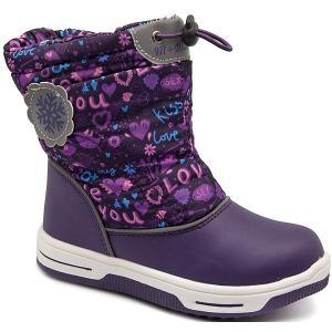 Дутики М+Д. Цвет: фиолетовый