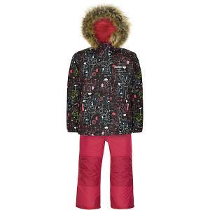 Комплект : куртка и полукомбинезон Gusti. Цвет: черный