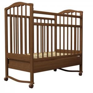 Детская кроватка  Золушка-2 качалка с ящиком Агат