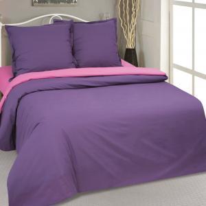 Комплект постельного белья  Фиалка, цвет: фиолетовый Артпостель