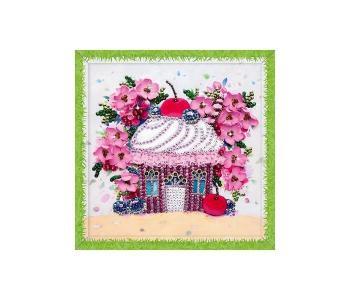 Набор для творчества мозаика из пайеток Вишневый десерт Волшебная мастерская