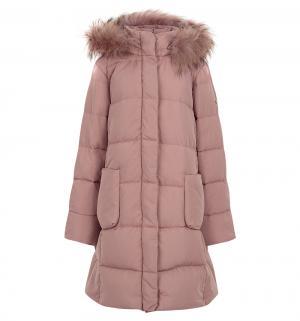 Пуховик , цвет: розовый Baon