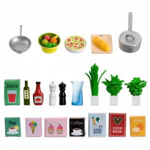 Аксессуары для домика Набор кухонных аксессуаров 21 штука Lundby