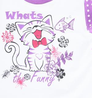 Пижама , цвет: фиолетовый Pepelino