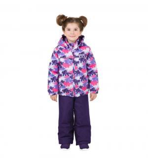 Комплект куртка/брюки  Фиолетовый океан, цвет: фиолетовый/розовый Ma-Zi-Ma by Premont