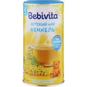 Чай  фенхель, с 4 месяцев, 200 г Бебивита