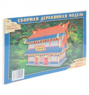 Деревянный конструктор  Чайный домик Wooden Toys