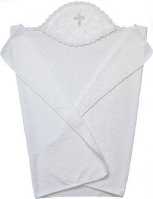 Полотенце крестильное с капюшоном 3201 Little People
