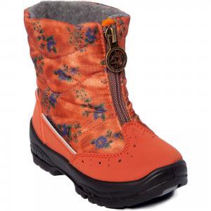 Утепленные сапоги Alaska Originale. Цвет: оранжевый