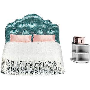 Набор мебели для домика  Спальня Lundby. Цвет: разноцветный