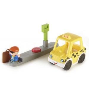 Игровой набор  Транспортные средства Такси Путешествуем вместе Little People