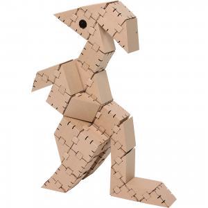 Картонный конструктор Динозавр Игу, Yohocube