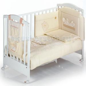 Комплект в кроватку  Coccinelle (5 предметов) Italbaby