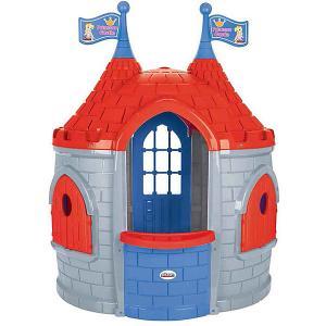 Игровой домик  Замок принцессы, серо-красный Pilsan. Цвет: grau/rot