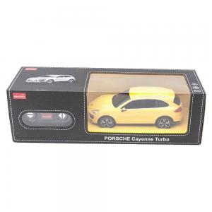 Машина на радиоуправлении  Porsche Cayenne Turbo, желтая 1 : 24 Rastar