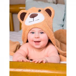 Полотенце с капюшоном Мишка BabyBunny